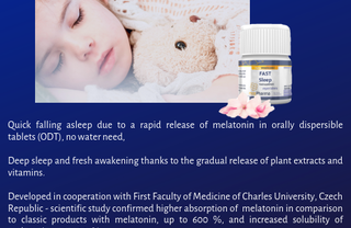 Looking for distributors of our scientifically proven food supplement Fast sleep in Poland!