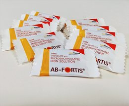 New product! Chocolate with AB-Fortis iron