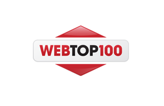 Awards in the WebTop100 competition