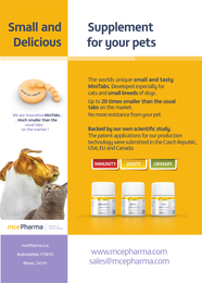 Small and delicious supplements for pets